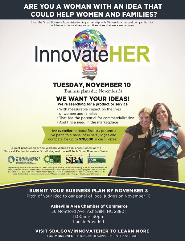 InnovateHER Flyer