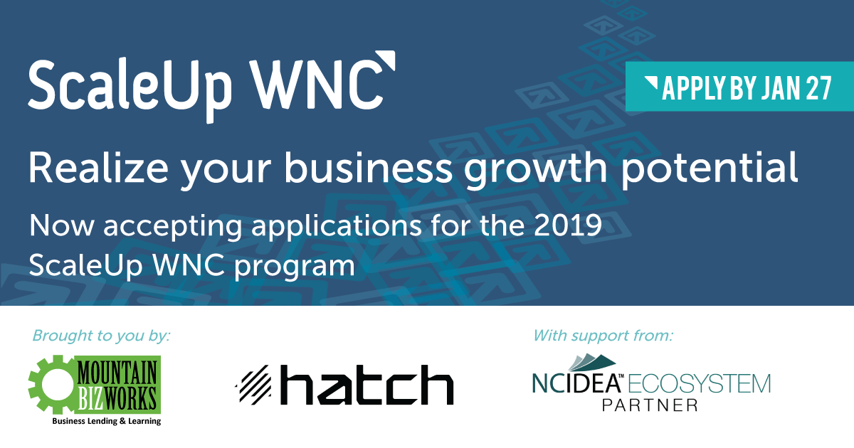 Apply now for the 2019 ScaleUp program