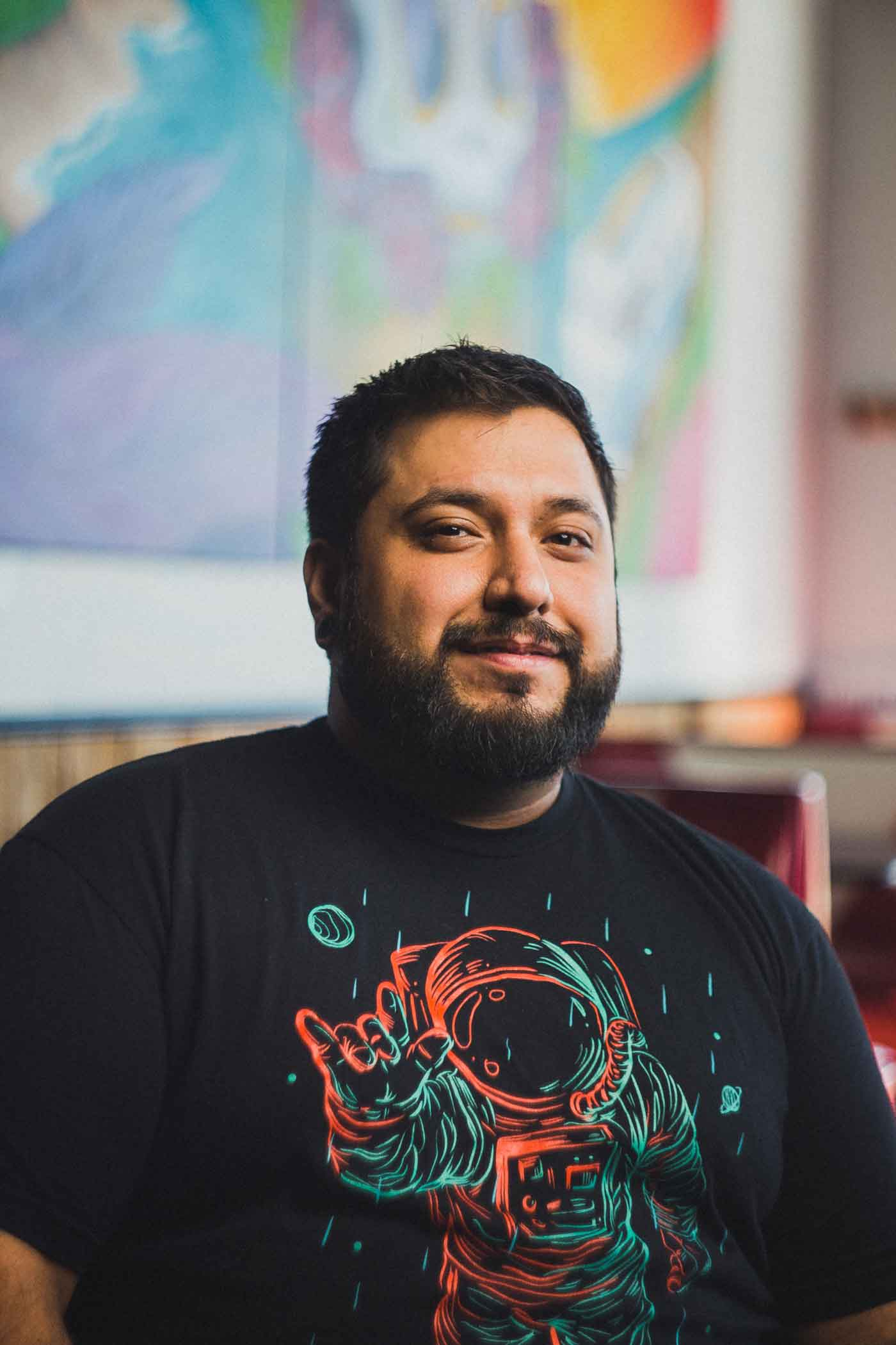 Daniel Rodriguez, owner of Burrito Bros in Marion, NC, Mountain BizWorks.