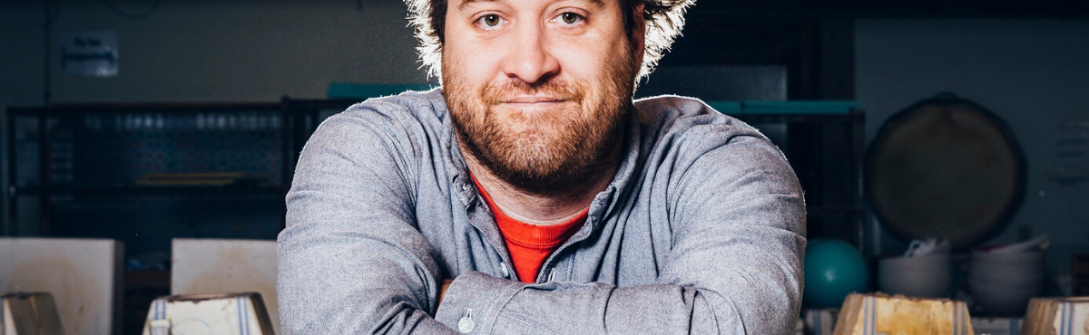 Photo of Brett Binford, Founder of Mudshark Studios