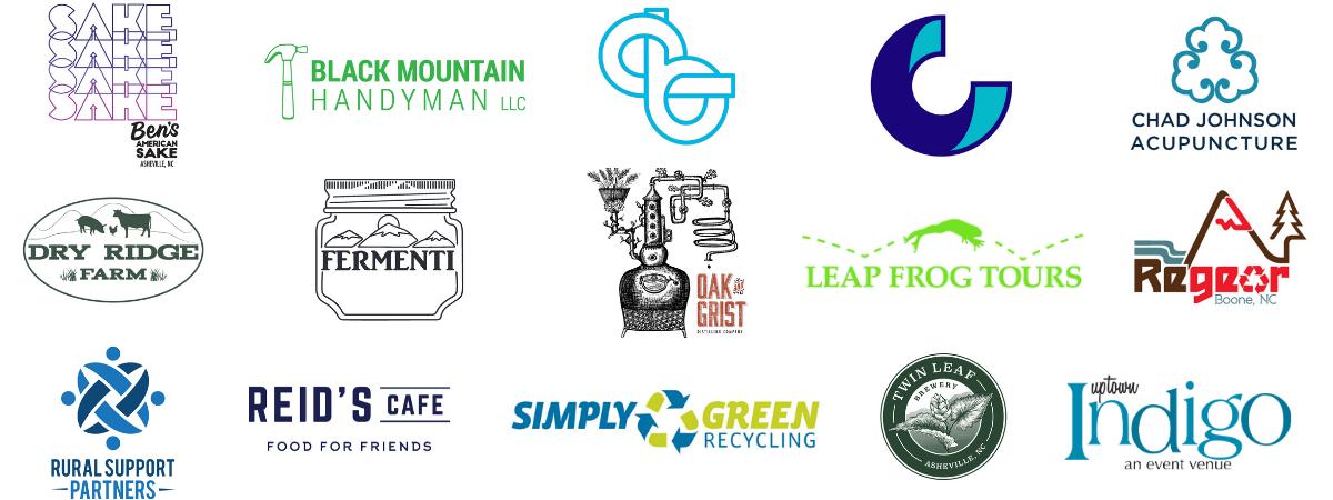 ScaleUp WNC 2020 Cohort Logos