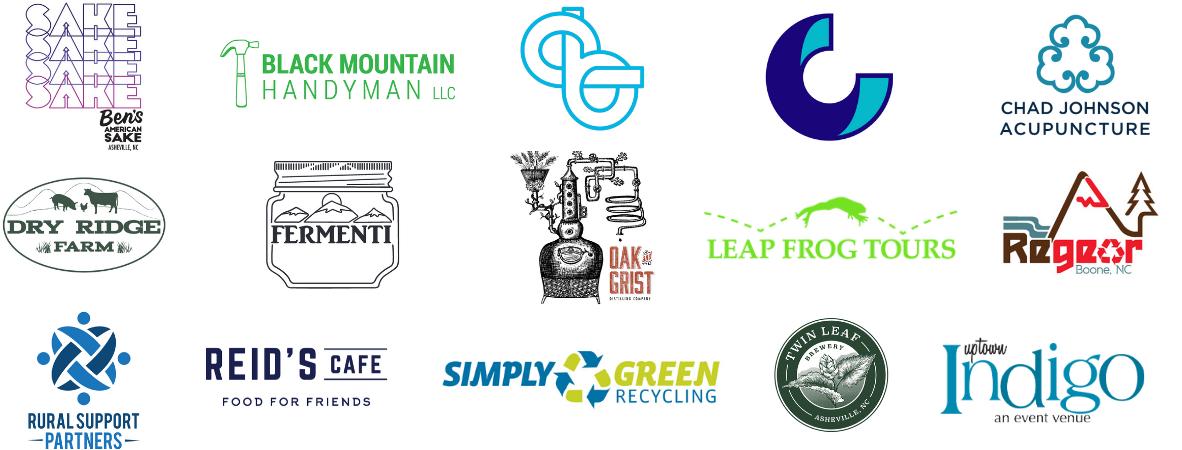 Mountain BizWorks Scaleup 2020—Spring Cohort logos
